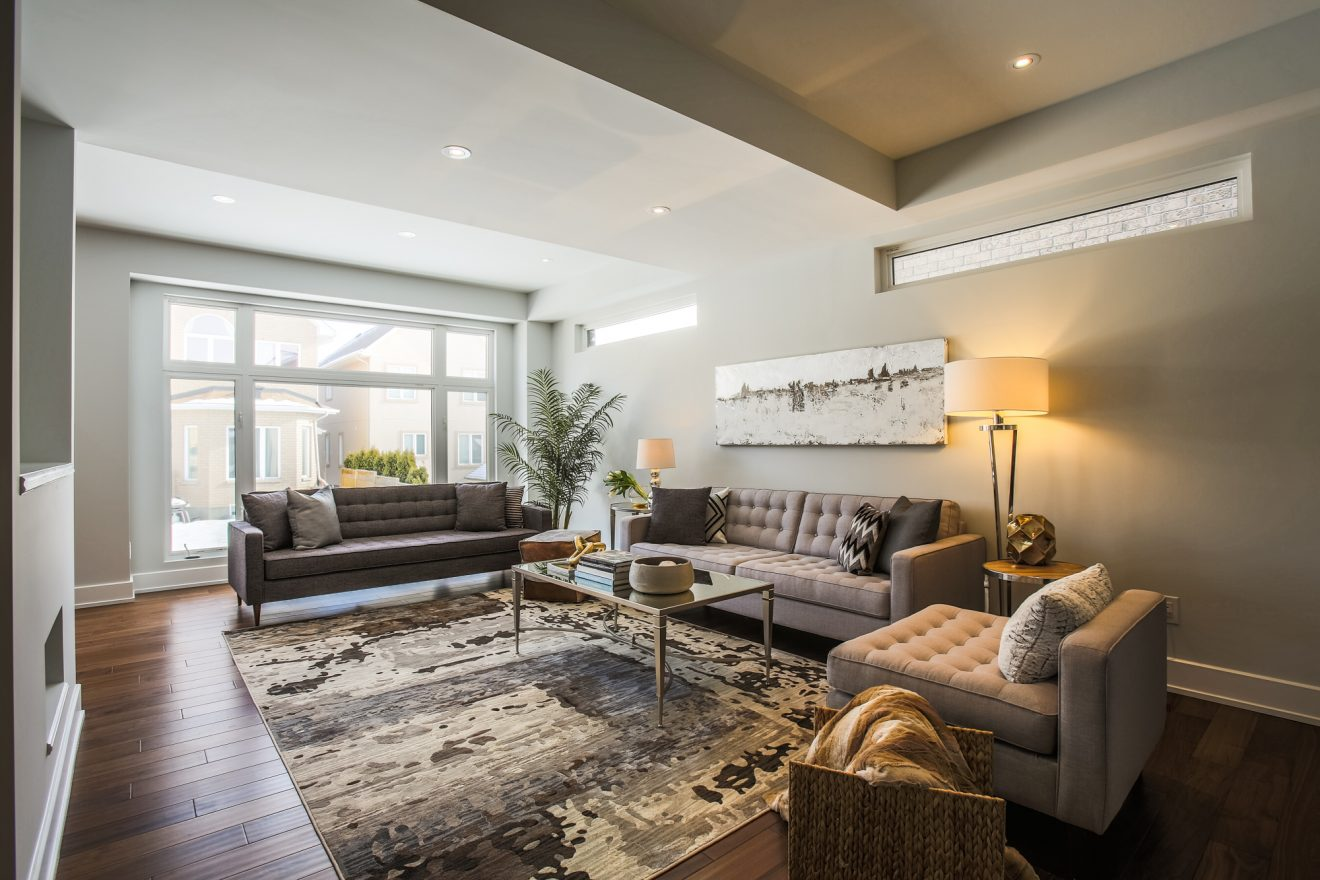 The Greyson - Interior - Living Room - 214 Madhu Crescent