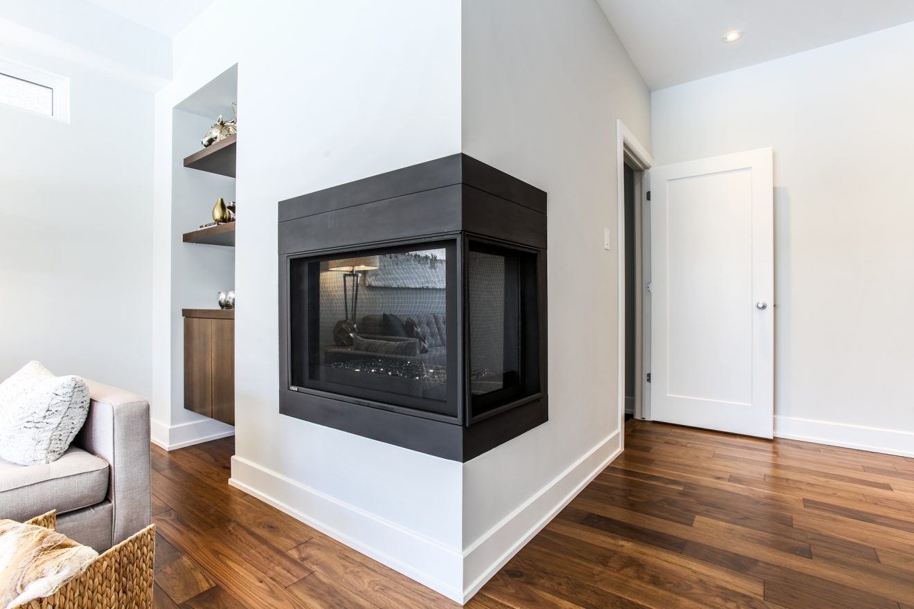The Greyson - Interior - Fireplace - 214 Madhu Crescent