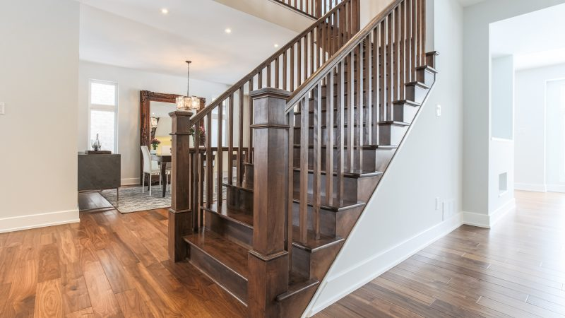 The Greyson - Interior - Staircase - 214 Madhu Crescent