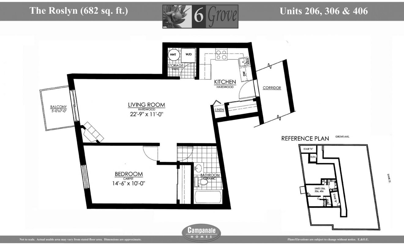 6 Grove floorplan roslyn 206,306,406