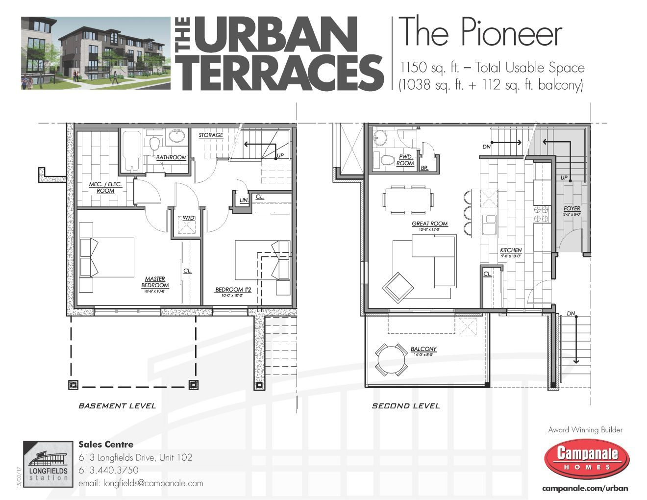 Pioneer_Floorplan_Urban_Terrace_Campanale Homes