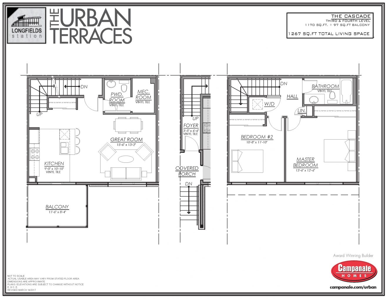 Urban Terraces Floor Plan CASCADE