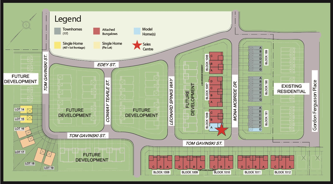 Callahan Estates Site Map Arnprior